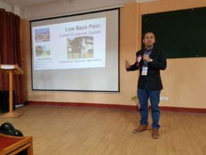 Low back pain update presentation at NEPTACON 2018